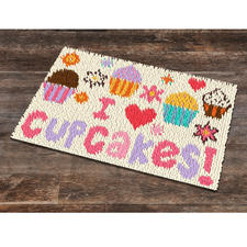 "Fussmatte ""Cupcakes"""