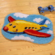 """Formteppich - Mein Urlaubsflieger Formteppich """"Mein Urlaubsflieger"""""""