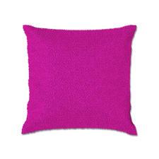 """Knüpfkissen Uni """"Bright Pink"""" Kuschelweiche Uni-Kissen in trendigen Farben."""