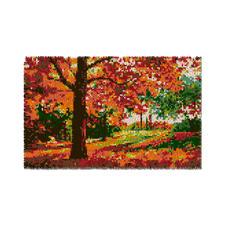 """Wandbehang """"Goldener Herbst"""" Wandbehänge aus Reiner Schurwolle."""