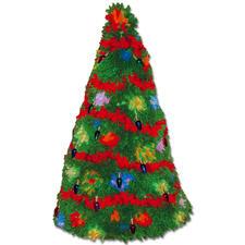 Deko-Weihnachtsbaum Bunte Weihnachten-3D-Weihnachtsbaum.