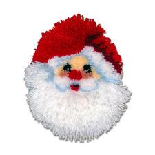 Nikolaus-Knüpfkissen Bunte Weihnachten