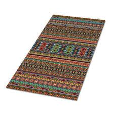 """Stickteppich """"Karvina"""" Gestickte Teppiche – besonders strapazierfähig."""