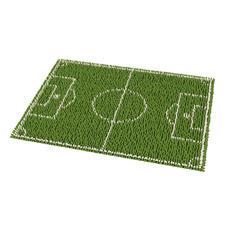 """Fussmatte """"Fussballfieber"""" Anpfiff zum Start der Fussball EM 2016."""