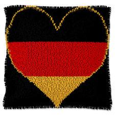 """Kissen """"Deutschland"""" Deutschland im Fussballfieber."""