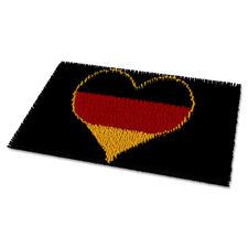 """Fussmatte """"Deutschland"""" Deutschland im Fussballfieber."""