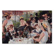 """Wandbehang """"Frühstück der Ruderer"""" - von Renoir Ein Wandbehang wie ein Kunstwerk."""