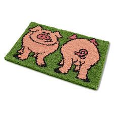 """Fussmatte """"Schweine"""""""