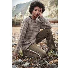 Anleitung 007 Pebbles, Pullover aus Earth von WOOLADDICTS by Lang Yarns
