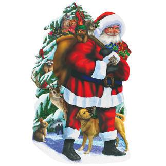 """Puzzle """"Weihnachtsmann"""" Ein Spass für die ganze Familie – spannend und entspannend zugleich."""