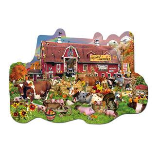 Puzzle - Auf dem Bauernhof Formpuzzles