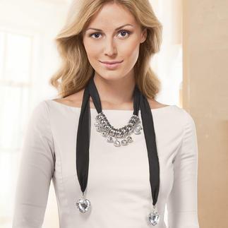 Deko-Schals, Beige oder Schwarz Accessoires für besondere Anlässe.