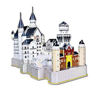 3D-Bauwerk - Schloss Neuschwanstein