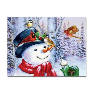 Puzzle - Süsser Schneemann Ein Spass für die ganze Familie – spannend und entspannend zugleich.