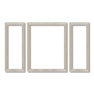 """Rahmen für Triptychon 2x 20 x 50 cm und 1x 40 x 50 cm Rahmen für Malen nach Zahlen Bilder """"Triptychon"""""""