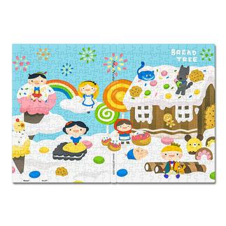 Puzzle-Umschlag - Candy House Puzzle-Umschläge