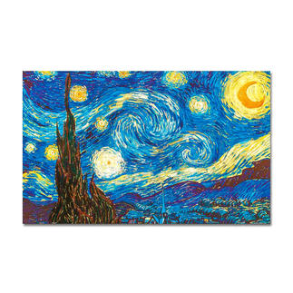 Puzzle - The Starry Night nach Vincent van Gogh Meisterwerke grosser Künstler als Puzzle