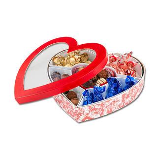Herz-Sortierbox
