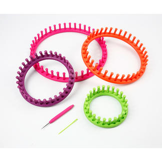 Strickring-Set