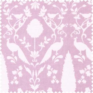 Stoffzuschnitt - Notting Hill, Pfau Matte Pudertöne lassen klassische Muster unfassbar schön wirken.