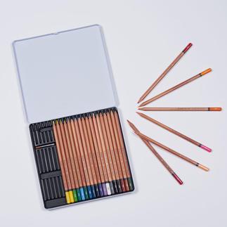 24 Aquarell Stifte, Brynzeel Expression Bruynzeel Expression Aquarel – 24 Aquarellbuntstifte in einer Metallbox.