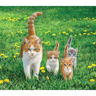 Puzzle - Kätzchen Ein Spass für die ganze Familie – spannend und entspannend zugleich.