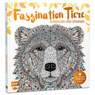 """Buch - Faszination Tiere Ausmalbuch """"Faszination Tiere"""" – Ausmalen und Staunen."""