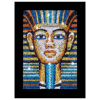 Paillettenbild für Erwachsene - Tutanchamun Paillettenbilder mit eindrucksvollen Motiven