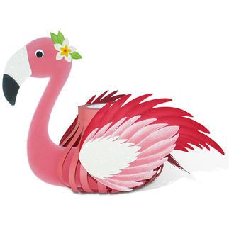 Laternen-Bastelset - Flamingo.