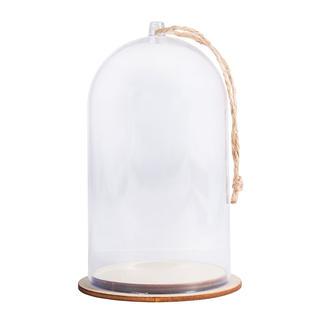 Dekorative Glocke aus Kunststoff