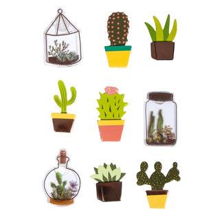 Sticker - Kaktus, 9 3D-Sticker mit Effekten my PLANNER – Ihr individueller Terminkalender.