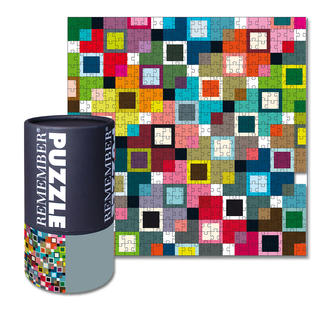Puzzle - Happy Design-Puzzle mit typischem REMEMBER®-Motiv.