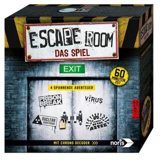 Spiel - Escape Room Escape Room: Der Live-Spiel-Trend jetzt als Brettspiel für zuhause.