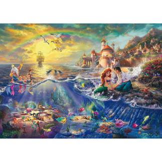 Puzzle - Disney: Arielle, die Meerjungfrau Puzzles nach Kunstwerken von Thomas Kinkade