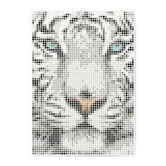 dot on art - Tiger, 50 x 70 cm dot on art Klebeposter