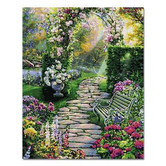 Malen nach Zahlen - Mein schöner Garten Malen nach Zahlen.
