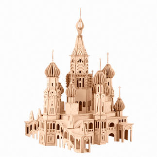 3D Holz-Puzzle - St.Petersburg Kathedrale Gestalten mit Holz.