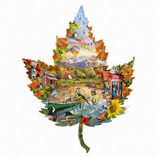 Puzzle - Herbst Ein Spass für die ganze Familie – spannend und entspannend zugleich.