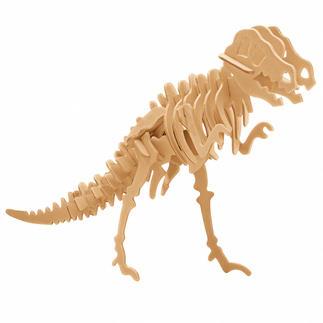 3D Holz-Puzzle - Tyrannosaurus Gestalten mit Holz.