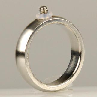 Ring mit Schraubgewinde, 5 mm breit Ring mit Schraubgewinde