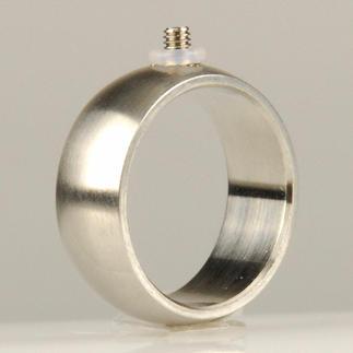 Ring mit Schraubgewinde, 8 mm breit Ring mit Schraubgewinde
