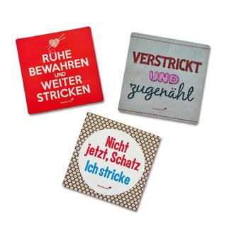 Strickimicki Magnete... witzig, frech, für jeden Strickfan.