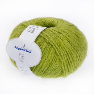 Flip von Junghans-Wolle Super leichtes Garn mit geringem Verbrauch.