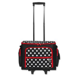 Nähmaschinen-Trolley Polka Dots Praktische Aufbewahrung Ihrer Utensilien.