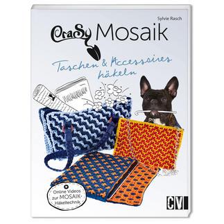 Buch - CraSy® Mosaik – Taschen & Accessoires häkeln