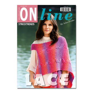 Heft - ONline Stricktrends Ausgabe Lace