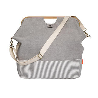 Store & Travel Bag Canvas meets Bamboo