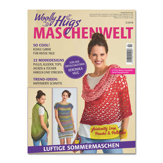 Heft - Woolly Hugs Maschenwelt 2/18 Woolly Hugs Maschenwelt 2/18