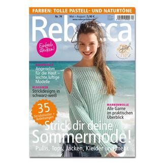 Heft - Rebecca Nr. 74 Strick dir deine Sommermode!