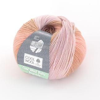 Cool Wool Baby Degradé von Lana Grossa - % Angebot %, Rosa/Lachs/Ocker